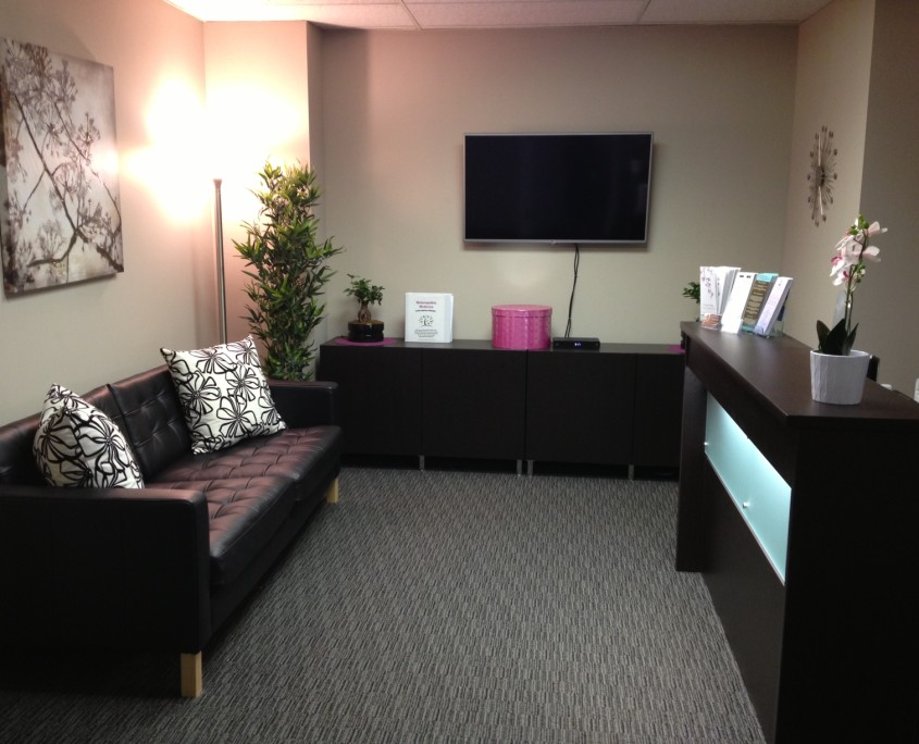 Northwest Calgary Naturopathic Medicine Waiting Room